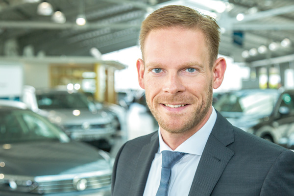 Martin Gräß, Autohaus Härtel